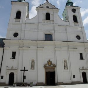 ul. 3 Maja - Kościół Świętego Krzyża Rzeszów