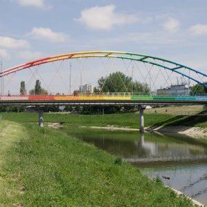 Most tęczowy Rzeszów