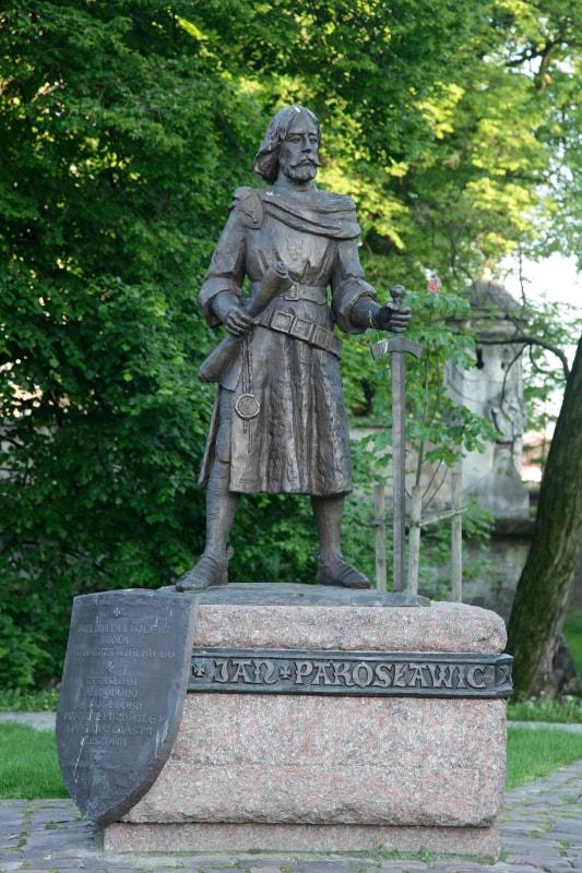 Pomnik Jan Pakosławic