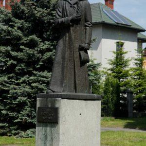 Pomnik Juliusza Słowackiego - Park Solidarności Rzeszów ul. Dąbrowskiego