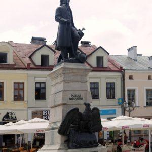 Pomnik Tadeusza Kościuszko - Rynek Rzeszów
